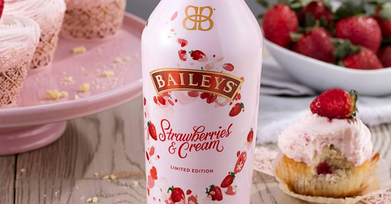 baileys strawberry and cream