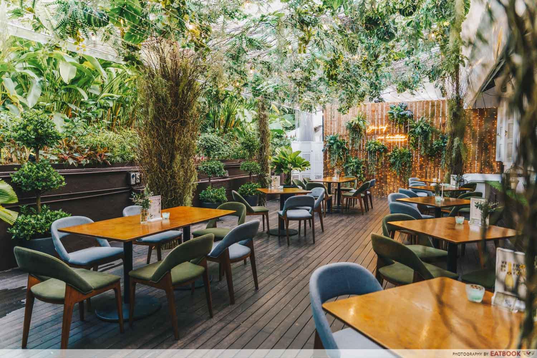 botanic garden food