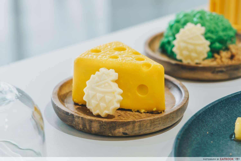 durian bb cheesecake