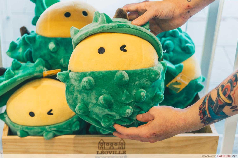 durian bb mascot