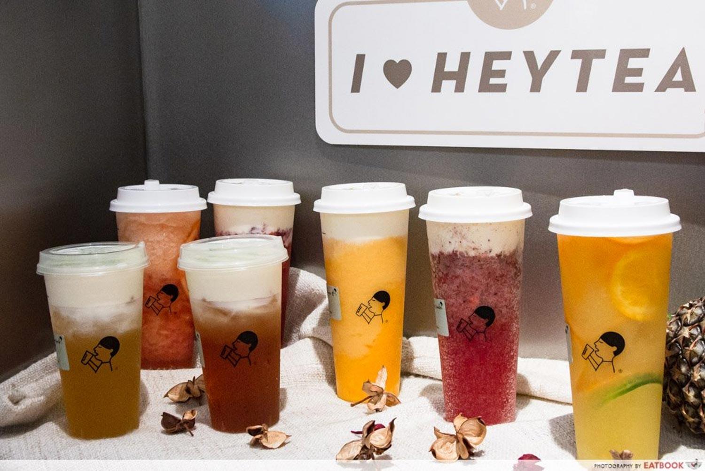 heytea vivocity - drinks