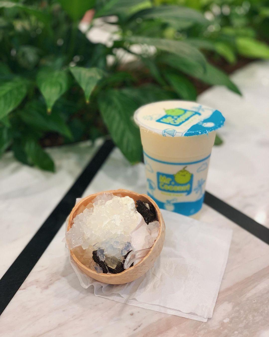 ice cream and shake