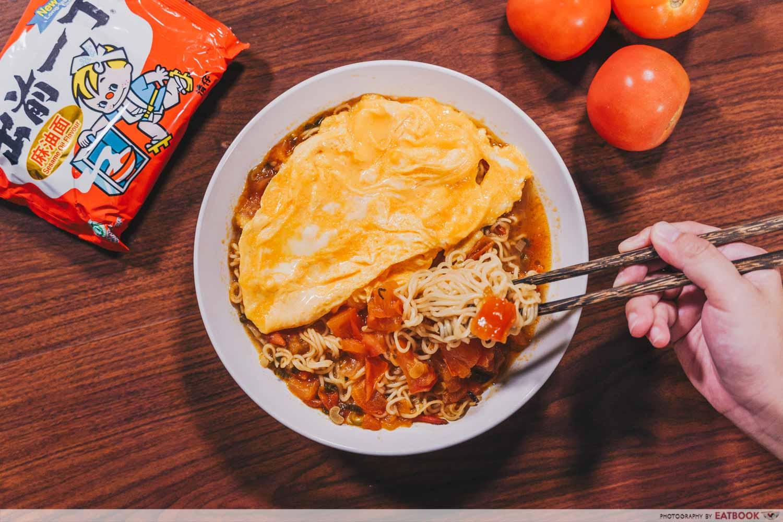 instant noodles - Hong Kong Tomato Noodles