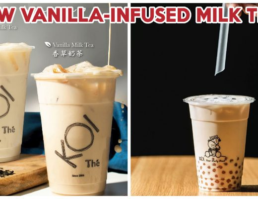 koi vanilla milk tea series