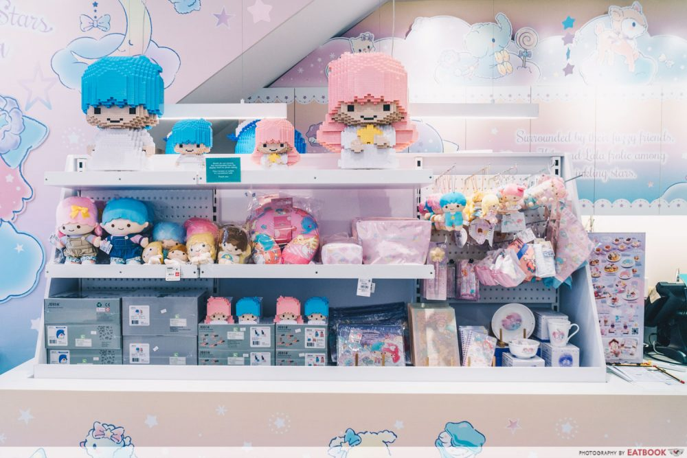 little twin stars cafe merch
