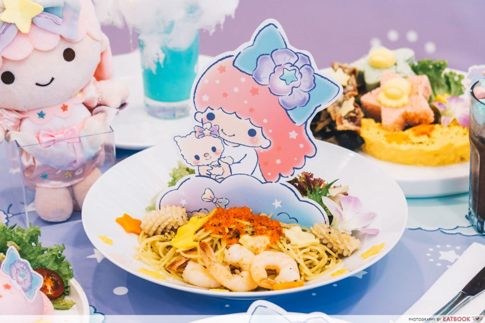 little twin stars cafe pasta