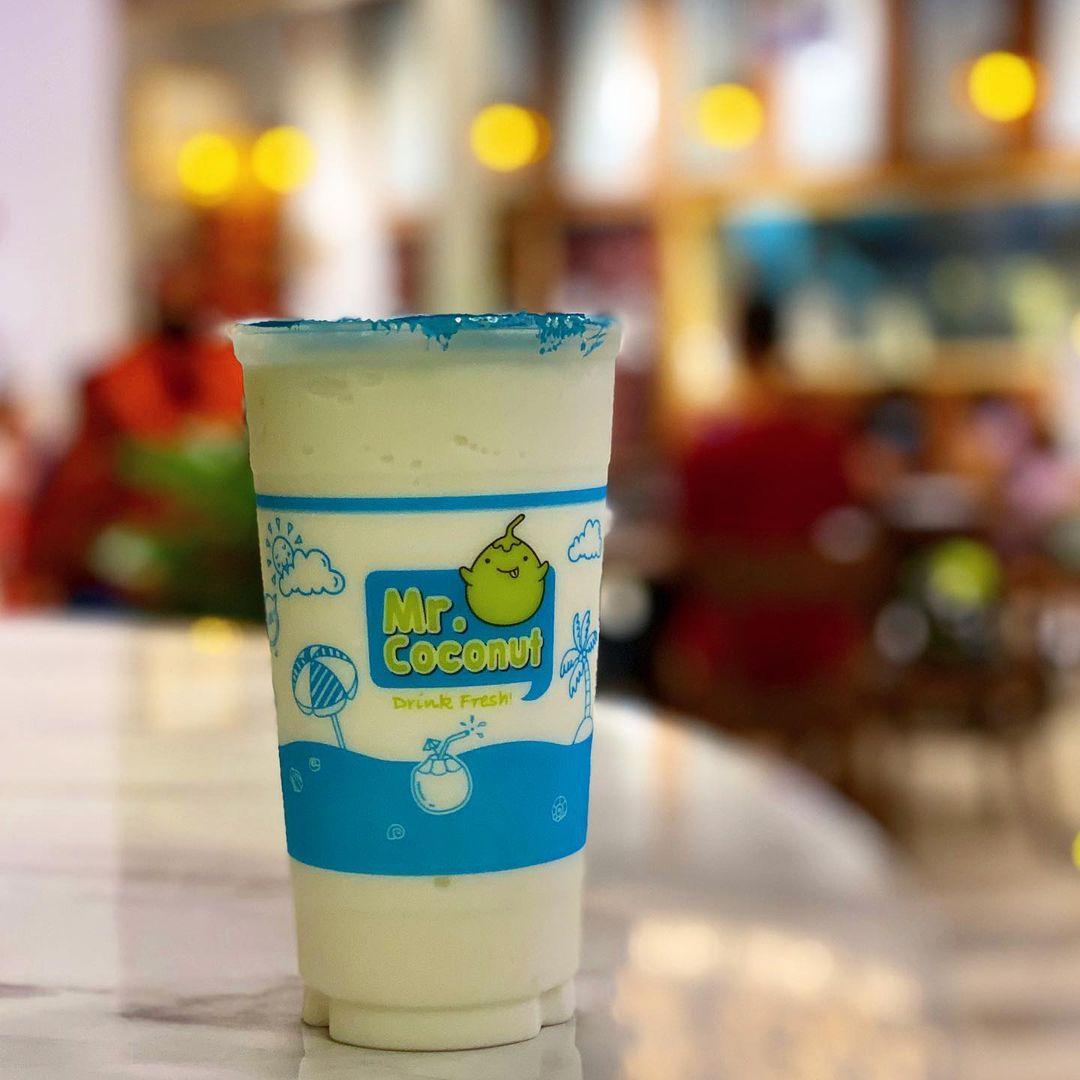avocado coconut shake
