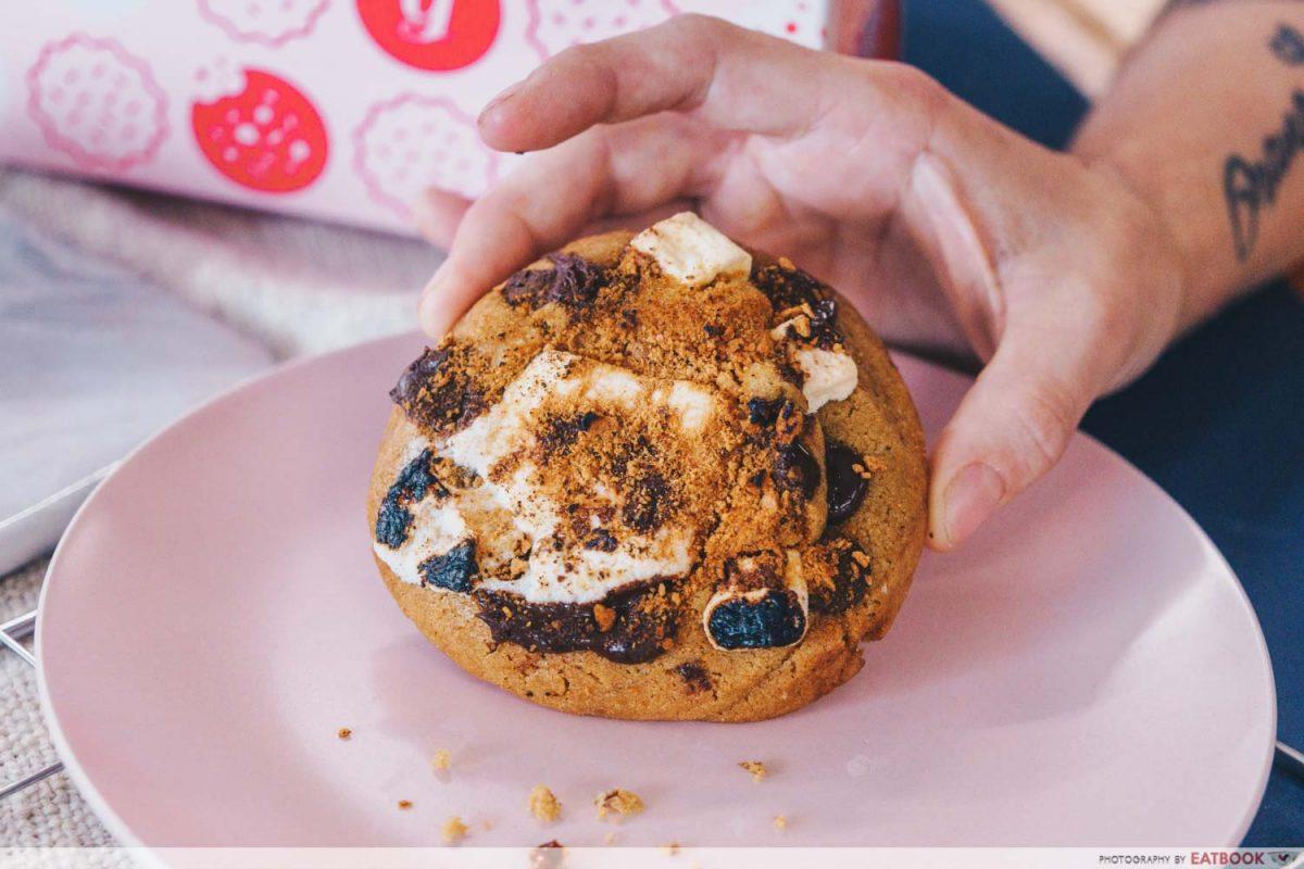 walk of shame cookie