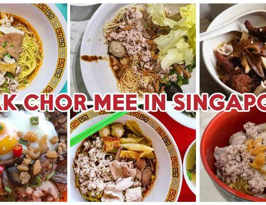 bak chor mee in singapore