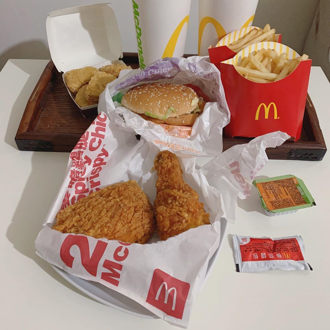 chicken mccrispy macs