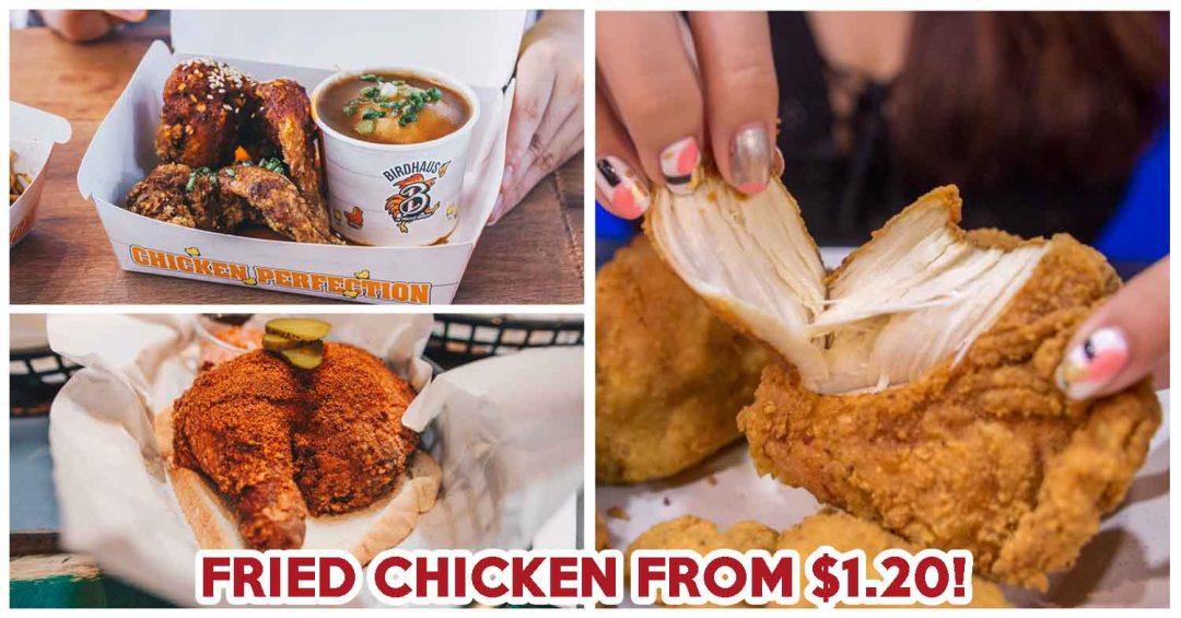 fried chicken singapore