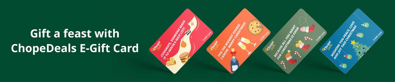 ChopeDeals Festive Food - egift card