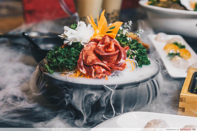 yanxi palace steamboat beef tongue