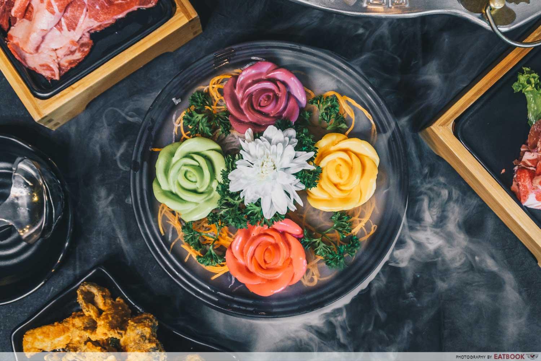 yanxi palace steamboat rose tofu