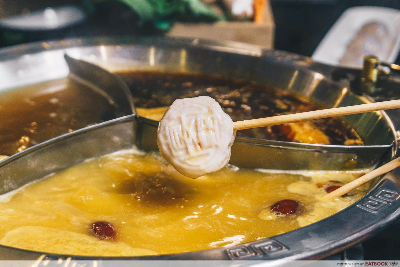 yanxi palace steamboat seafood lollipop