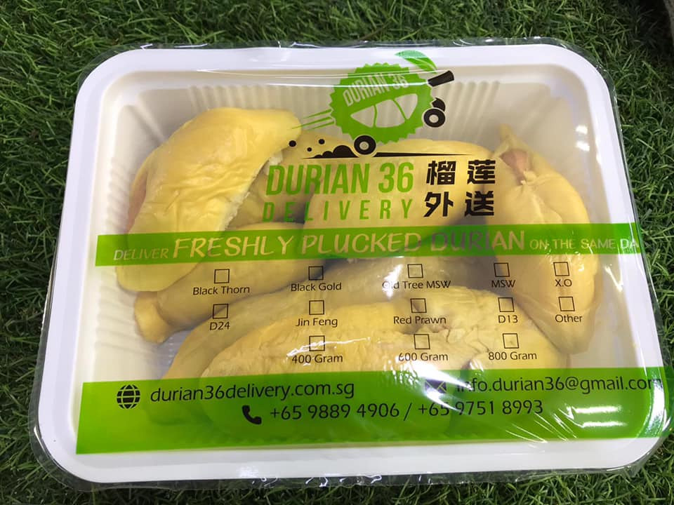 Durian delivery - durian 36