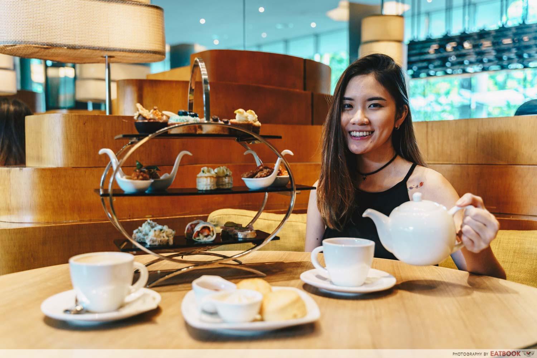 Lime Restaurant High Tea