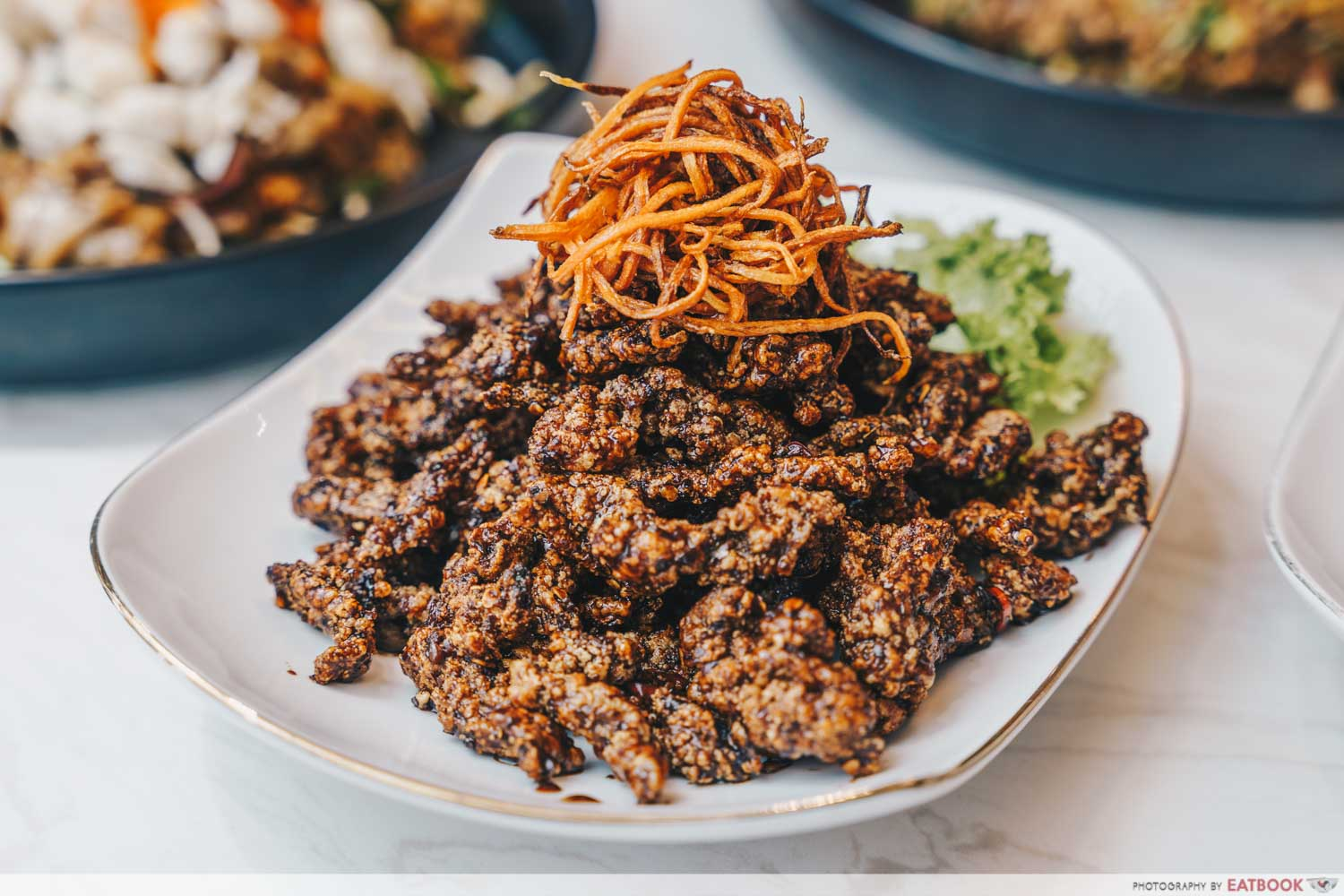COCA double-Fried Beef Strips