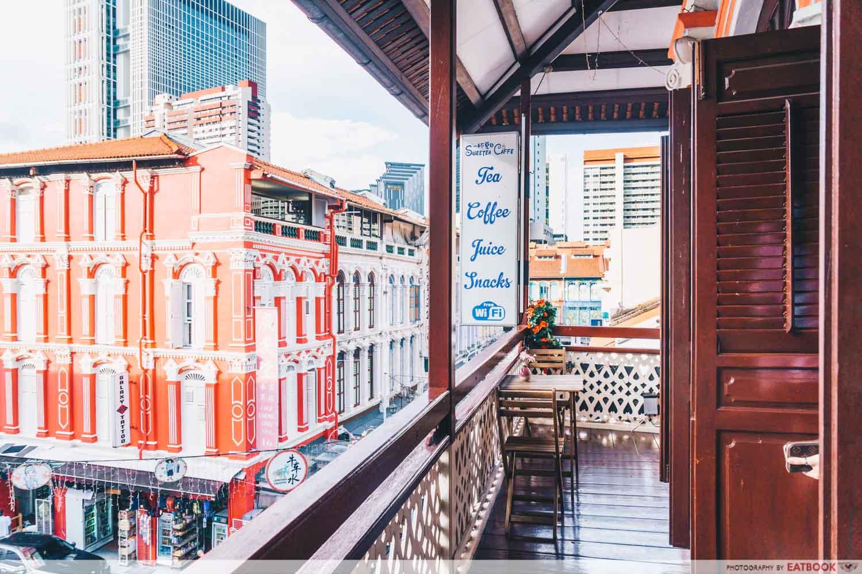 Sweetea Caffe Balcony