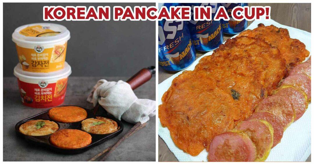 baeksul cup pancake - feature image