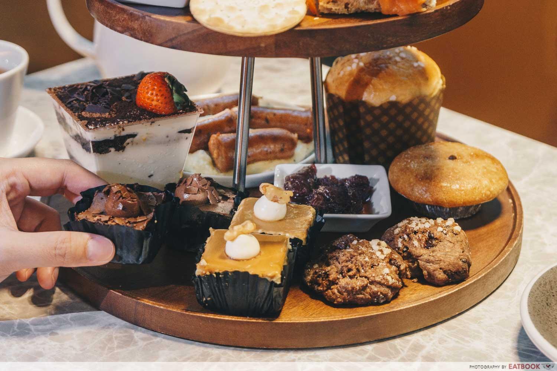 cedele afternoon tea - baked goods