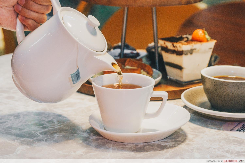 cedele afternoon tea - coffee or tea