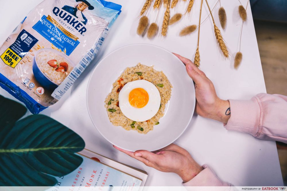 quaker oats porridge healthy breakfast