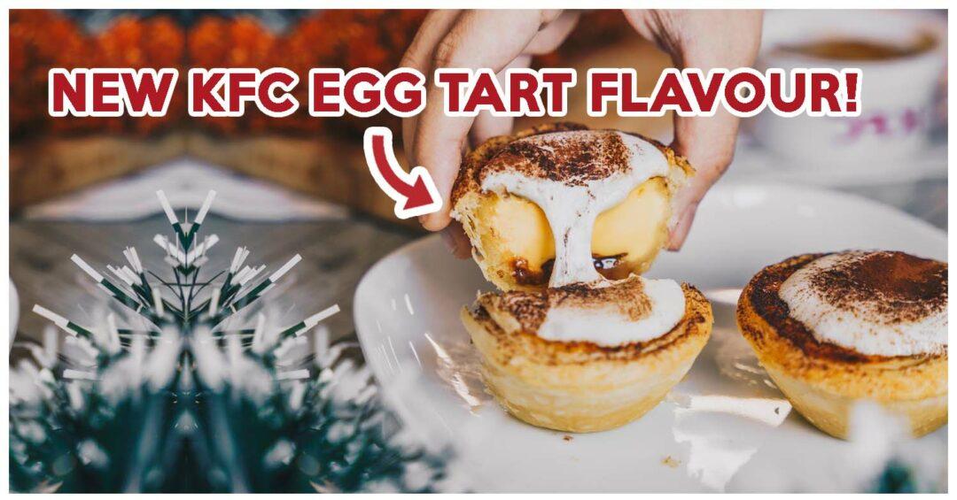kfc marshmallow chocolate hazelnut egg tart