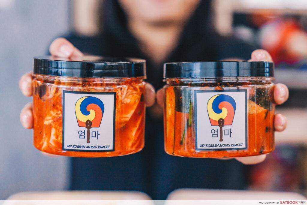 kimchi push shot