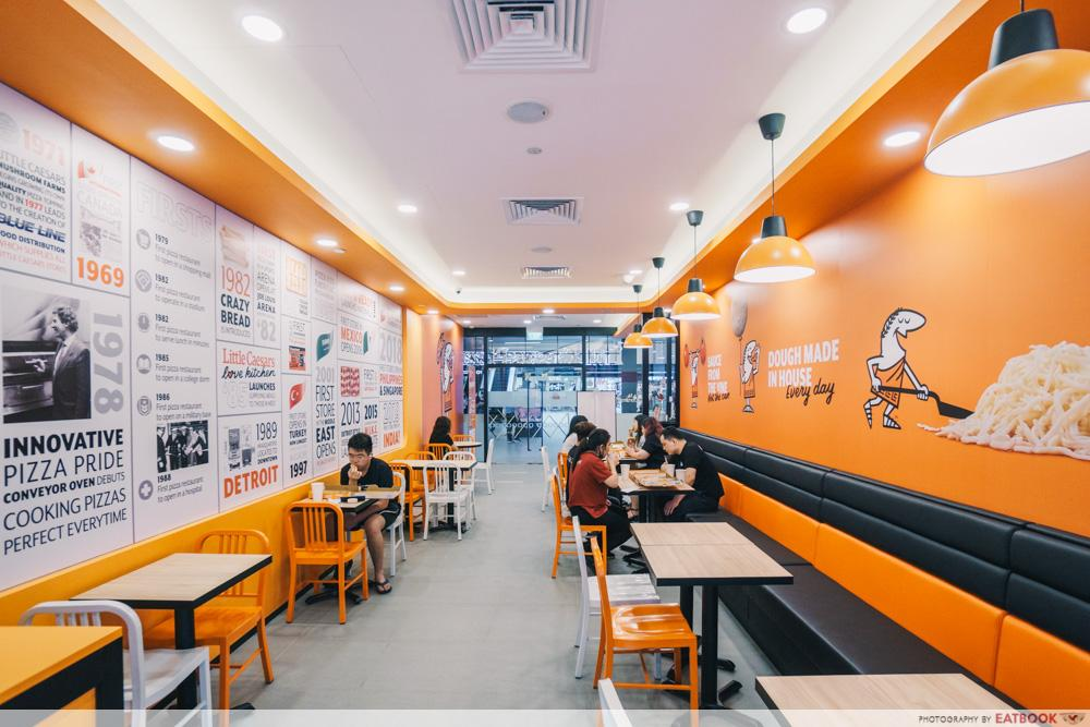 little caesars pizza singpost centre
