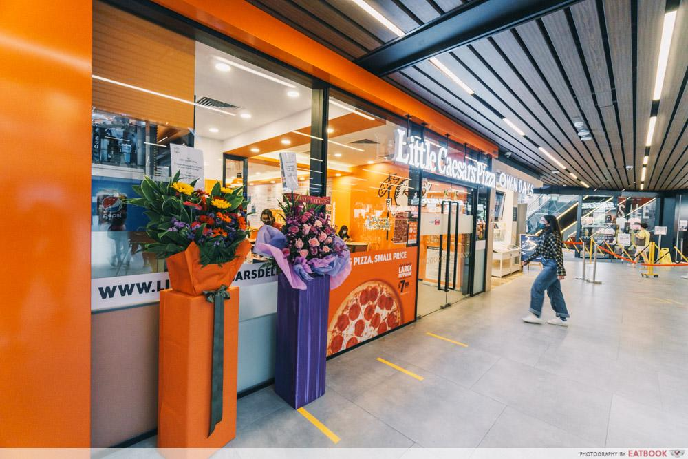 little caesars pizza singpost centre outlet