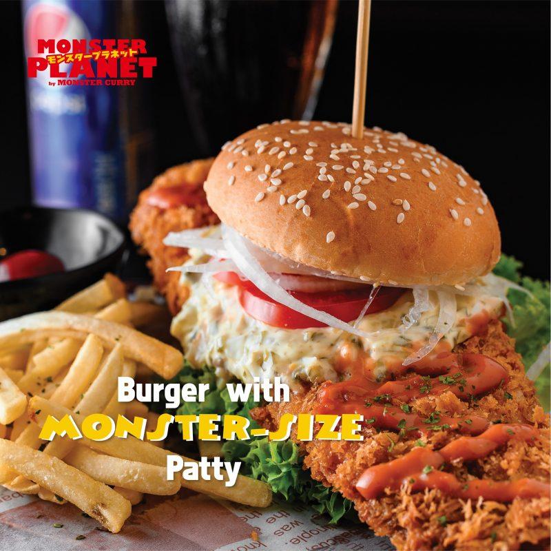 monster planet burgers