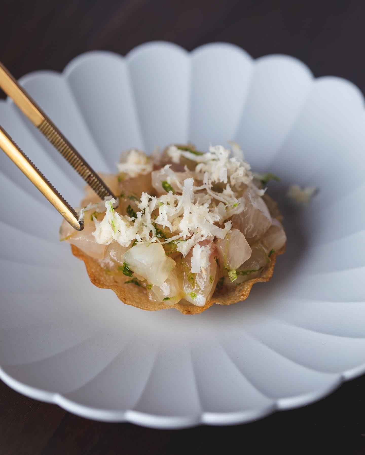 restaurant zen crab tart