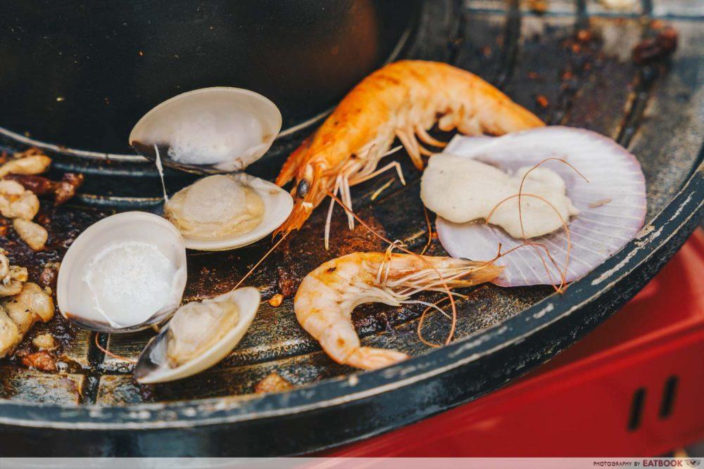 seafood lao dong bei shao kao