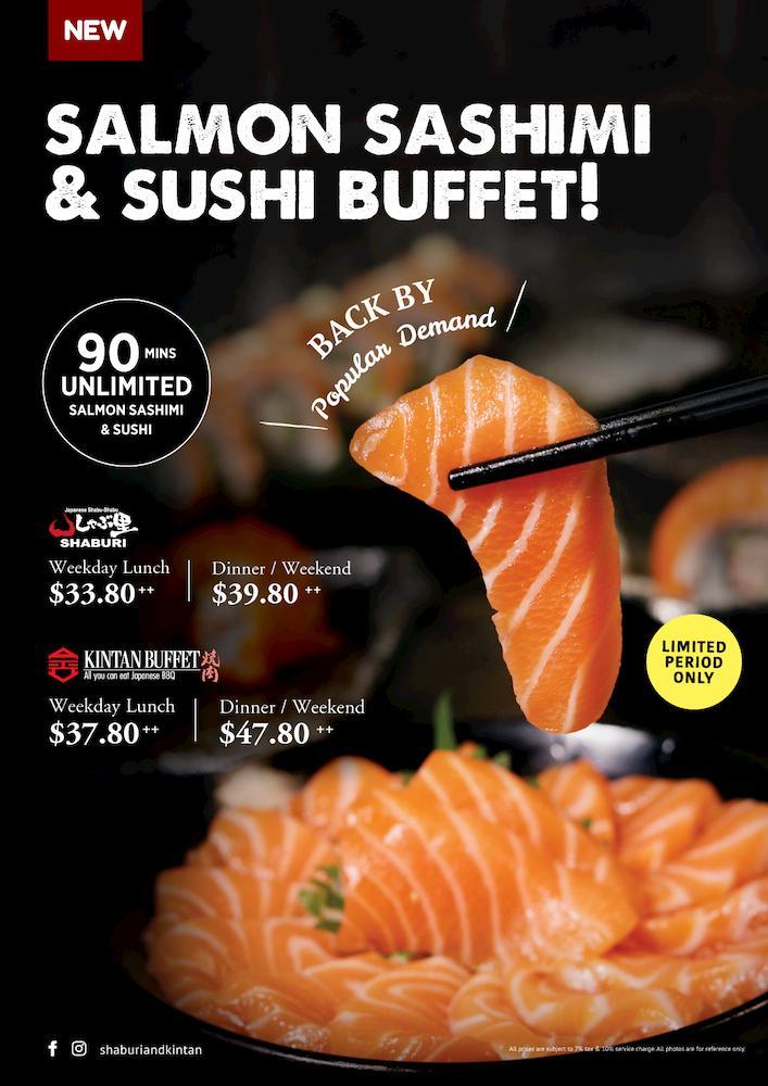 shaburi salmon buffet
