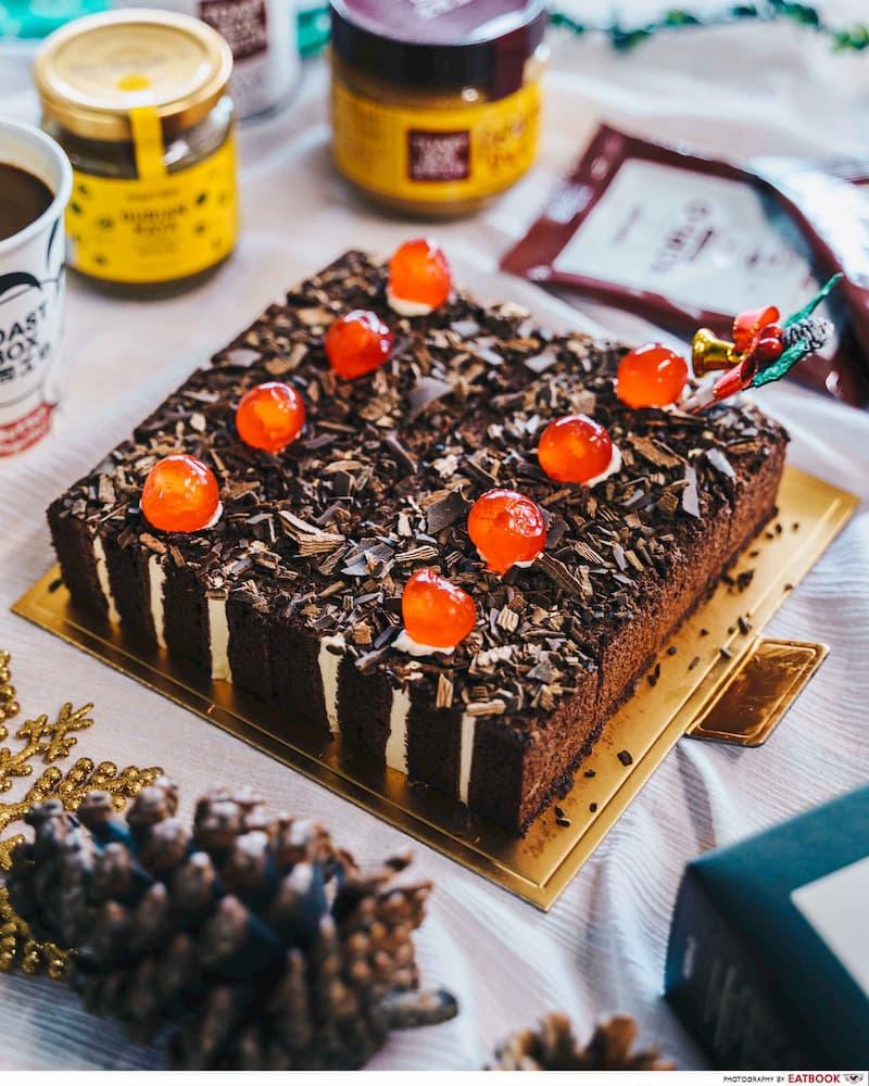 toast box christmas cake