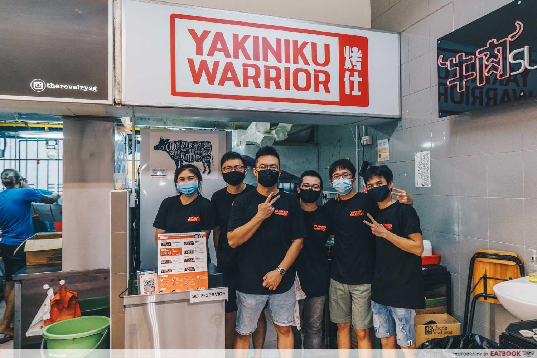 yakiniku warrior store