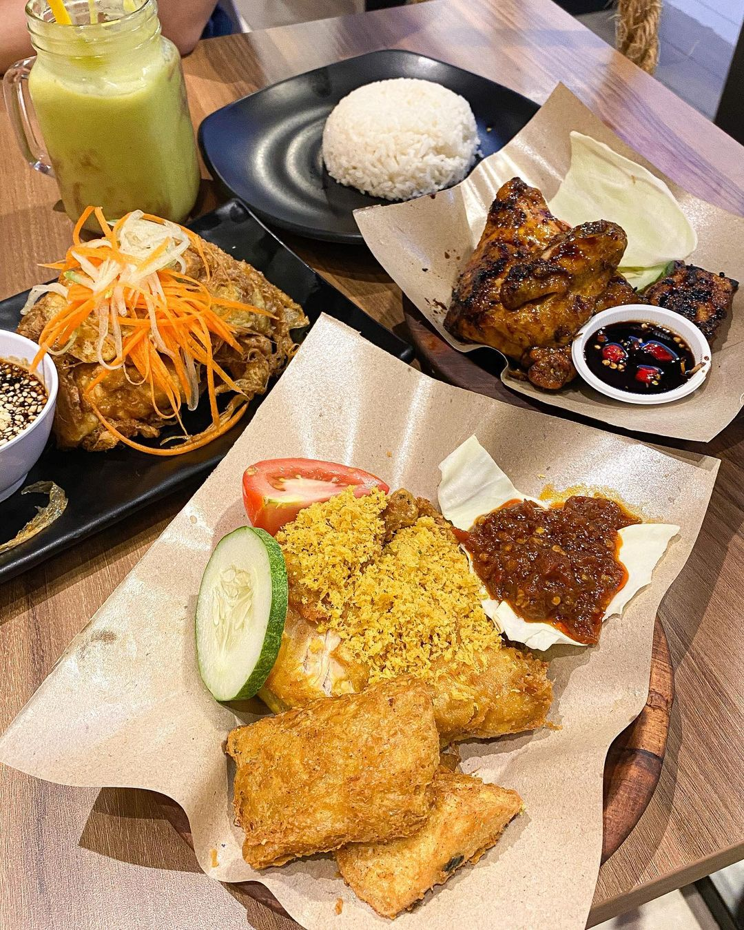 Asian Food Ayam Penyet President NEX