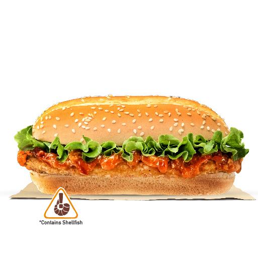 Burger King Long Chicken Burger