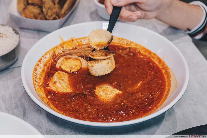 Tofu Clam Jjigae Hongdae Oppa