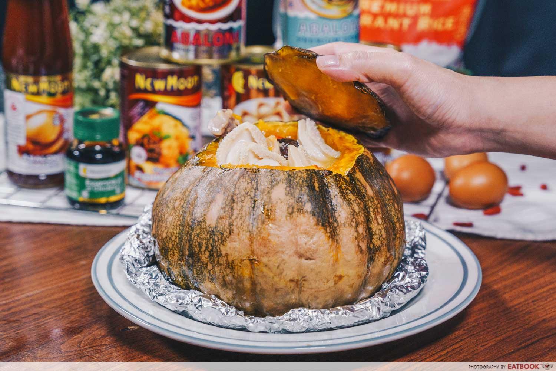 new moon pumpkin soup