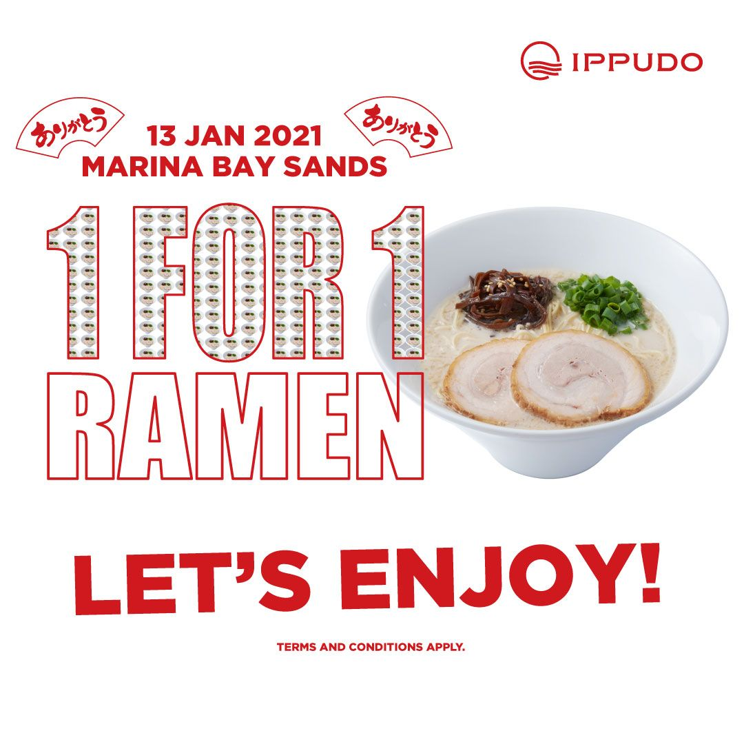 1 For 1 IPPUDO Singapore