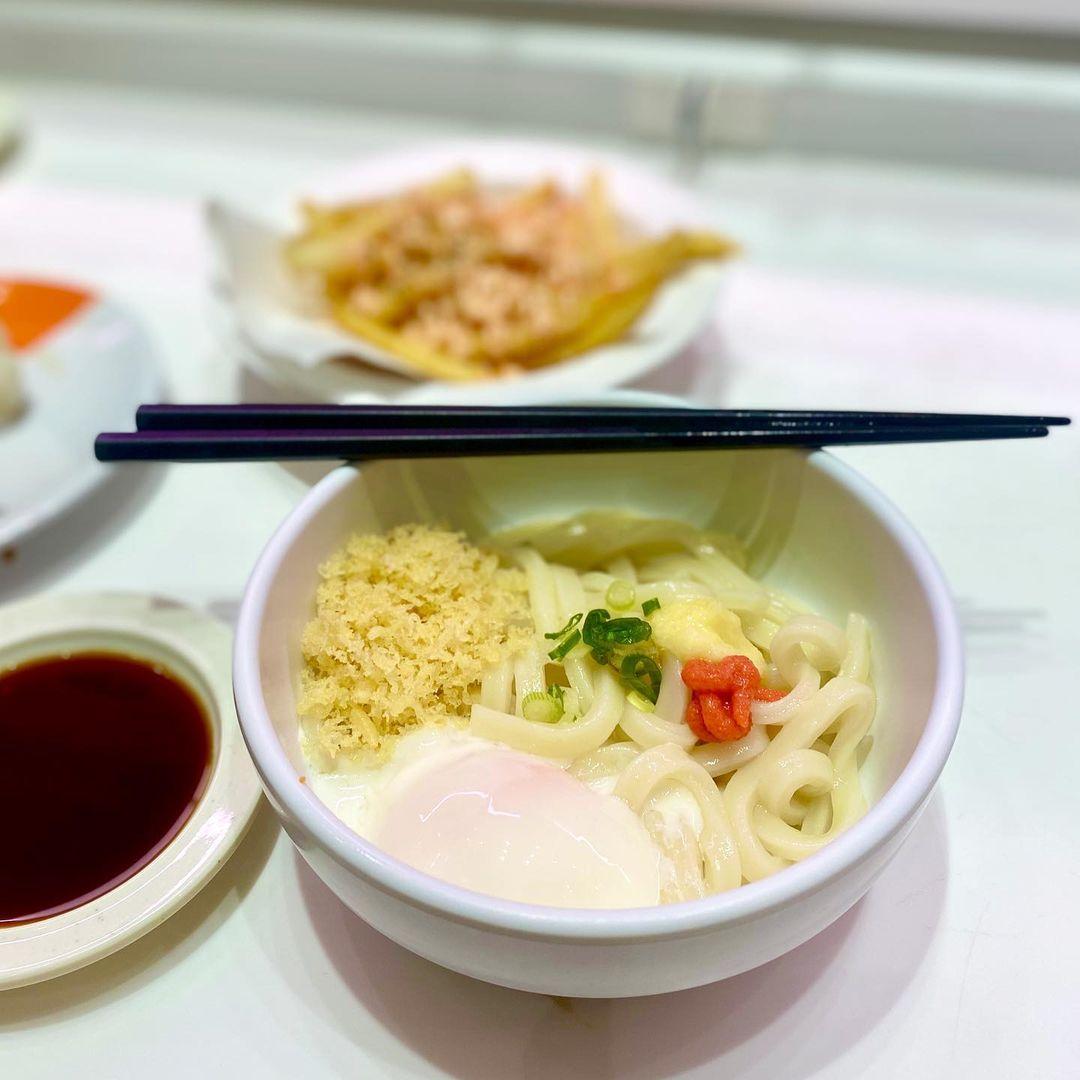 Cold Udon at Genki Sushi NEX