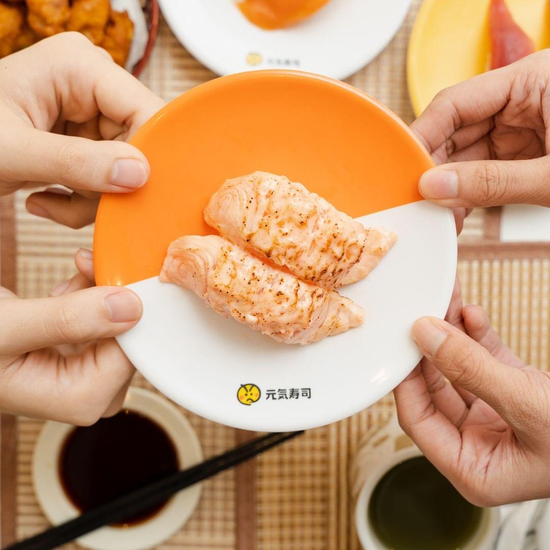 NEX Genki Sushi Salmon Mentai