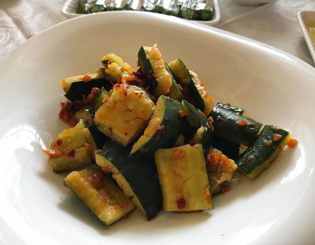 Jing Seafood Restaurant - Spicy Cucumber