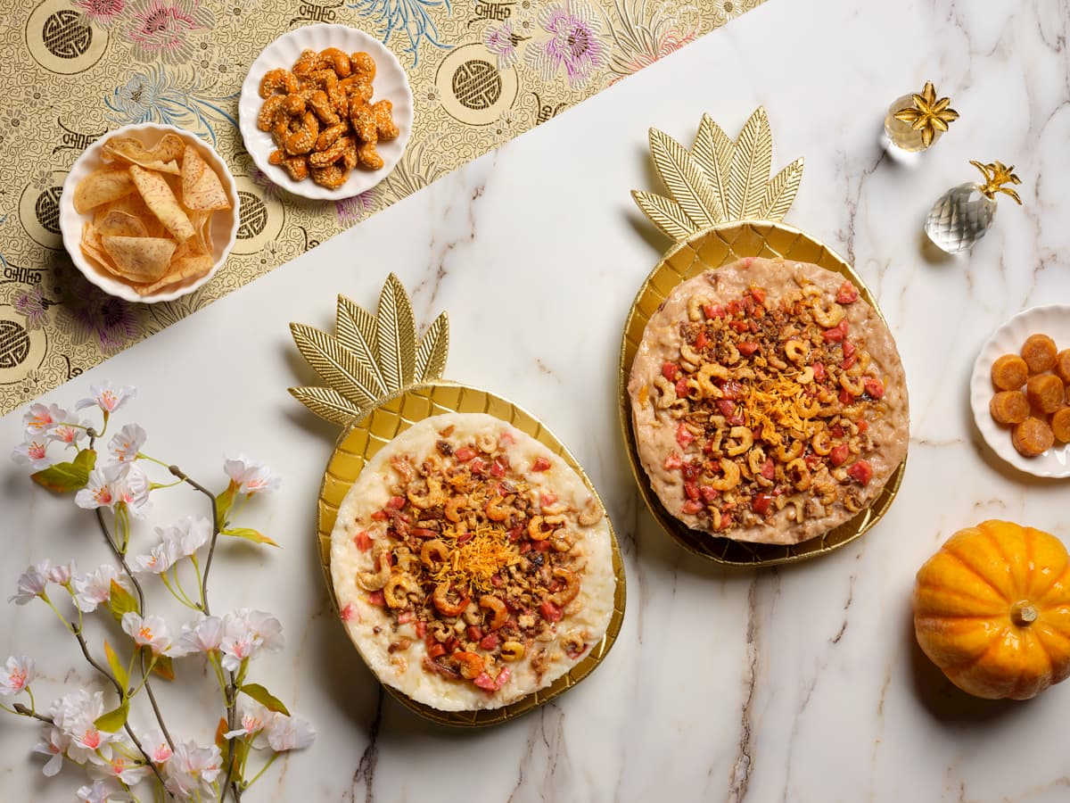 Li Bai's Radish and Yam Cakes