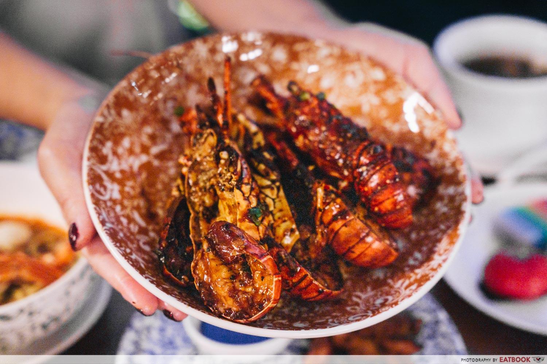black pepper lobster PARKROYAL on Beach Road
