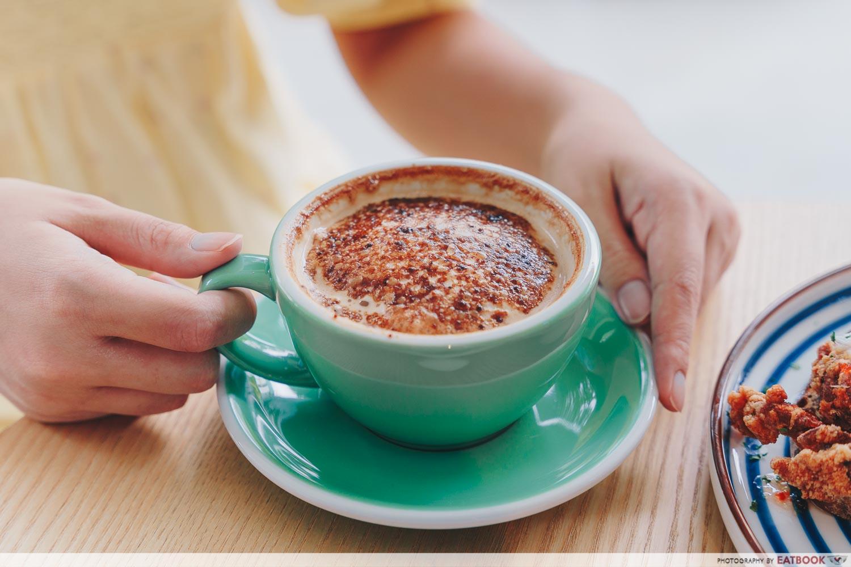Kogeta Cappuccino at Juparo Coffee