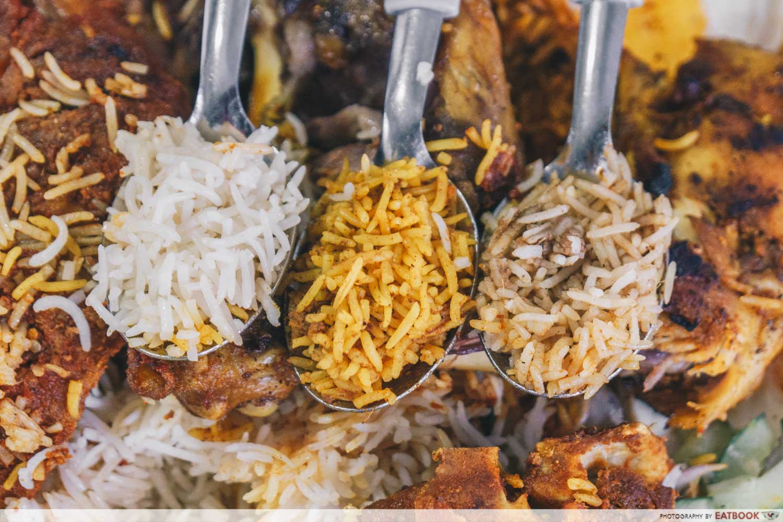 bismi briyani - rice