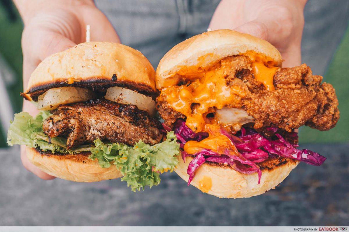 cult sliders burgers